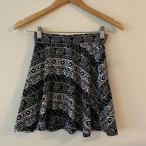 LA Colors Elephant print skirt